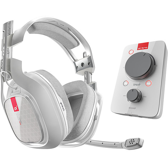 Casque micro Astro Gaming A40 TR + MixAmp Pro TR - Blanc