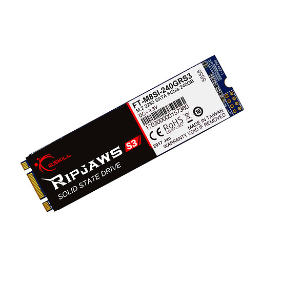 Disque SSD G.Skill Ripjaws S3 M.2 240 Go