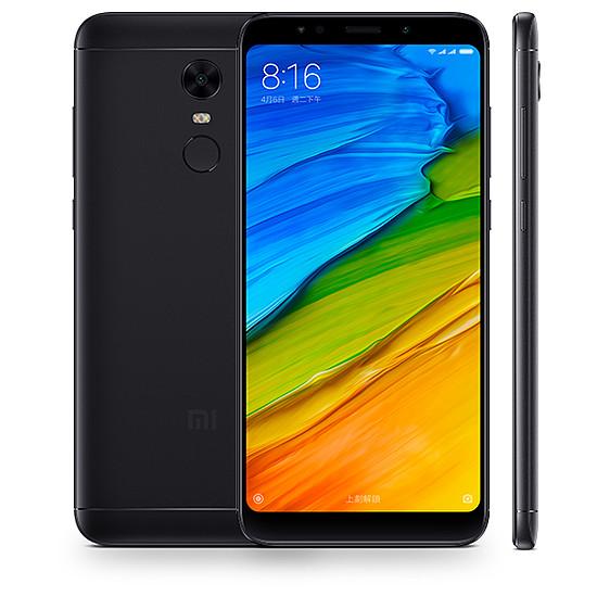 Smartphone et téléphone mobile Xiaomi Redmi 5 Plus (noir) - 32 Go