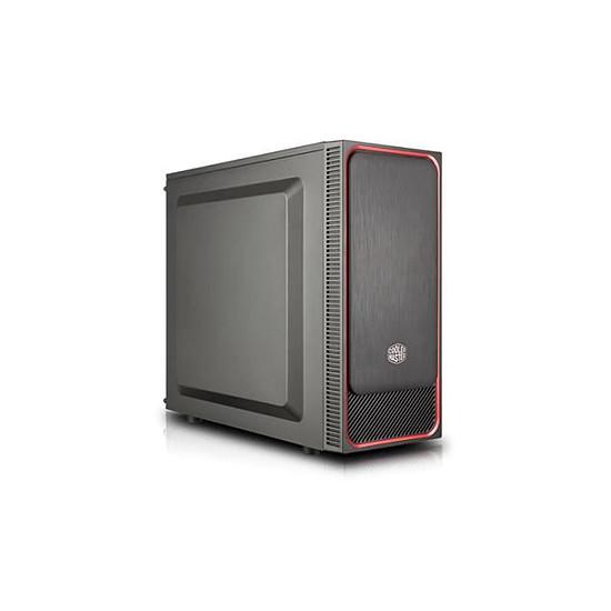 Boîtier PC Cooler Master MasterBox E500L - Rouge