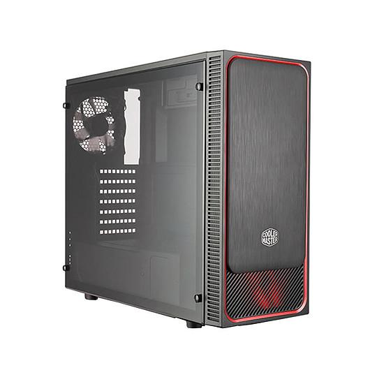 Boîtier PC Cooler Master MasterBox E500L Fenêtre - Rouge
