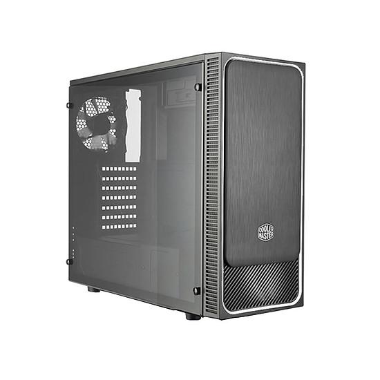 Boîtier PC Cooler Master MasterBox E500L Fenêtre - Argent