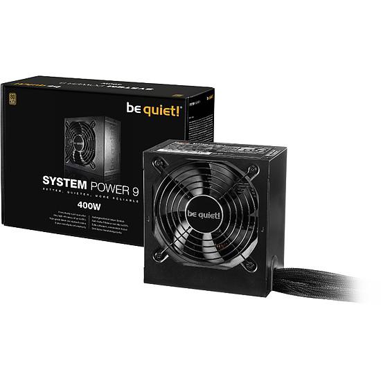 Alimentation PC Be Quiet System Power 9 - 400W - Autre vue