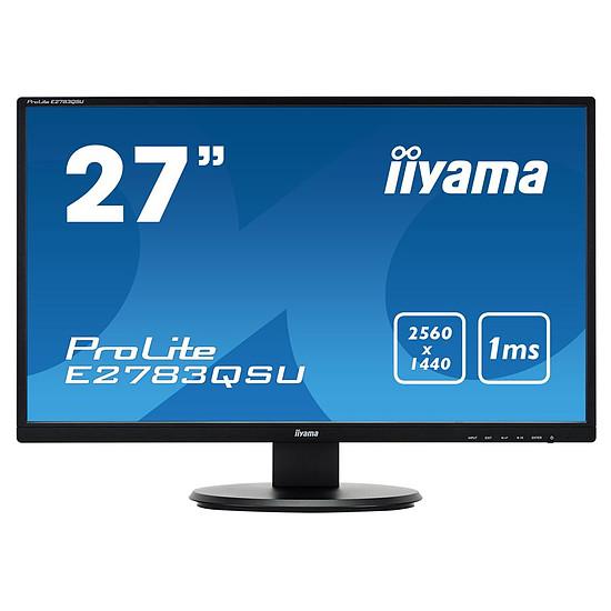 Écran PC Iiyama ProLite E2783QSU-B1 - Autre vue