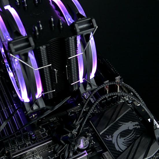 Refroidissement processeur Raijintek LETO PRO RGB - Autre vue