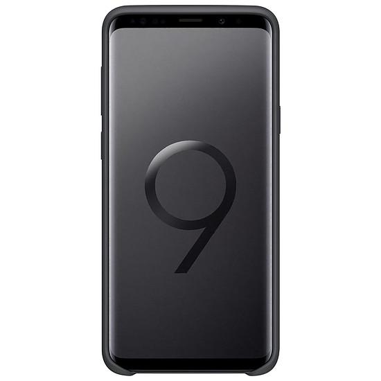 Coque et housse Samsung Coque silicone (noir) - Samsung Galaxy S9+