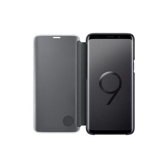 Coque et housse Samsung Clear view cover (noir) - Samsung Galaxy S9 - Autre vue