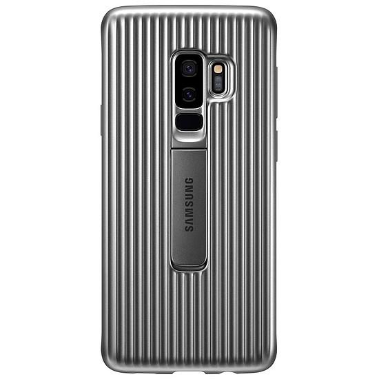 Coque et housse Samsung Coque renforcée (argent) - Samsung Galaxy S9+ - Autre vue