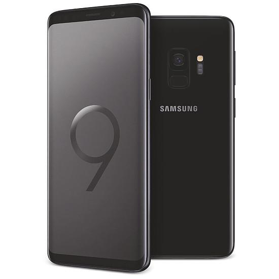 Smartphone et téléphone mobile Samsung Galaxy S9 (noir carbone) - 4 Go - 64 Go