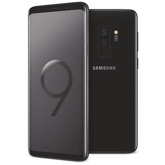 Smartphone et téléphone mobile Samsung Galaxy S9+ (noir carbone) - 6 Go - 64 Go