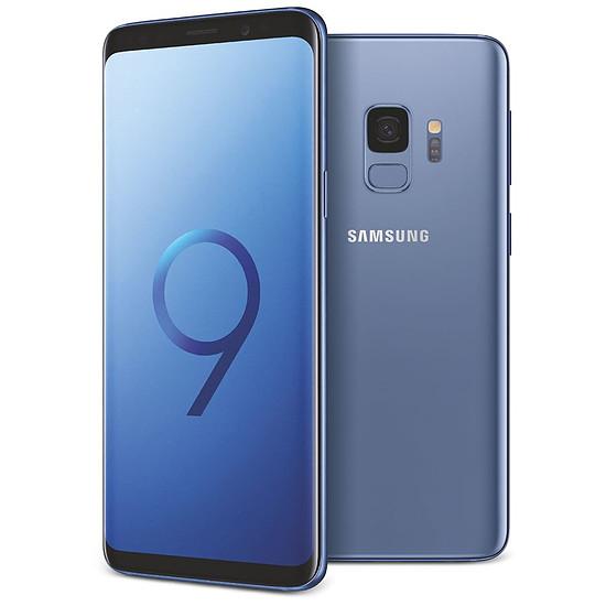 Smartphone et téléphone mobile Samsung Galaxy S9 (bleu corail) - 4 Go - 64 Go