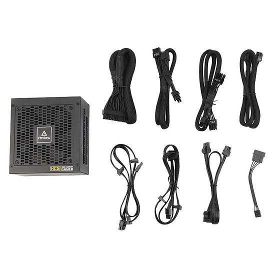 Alimentation PC Antec High Current Gamer HCG-650W Gold - Autre vue