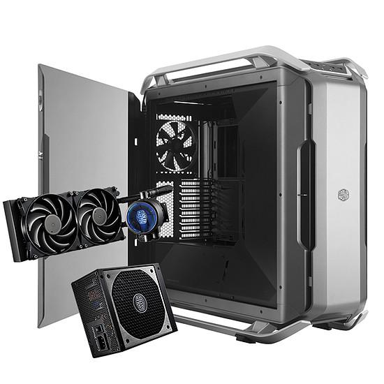 Boîtier PC Cooler Master C700P + alimentation V650 + MasterLiquid Pro 240
