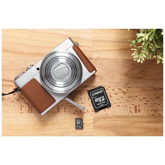 Carte mémoire Kingston microSDHC 16 Go Canvas Select (80Mo/s) + adapt. SD - Autre vue