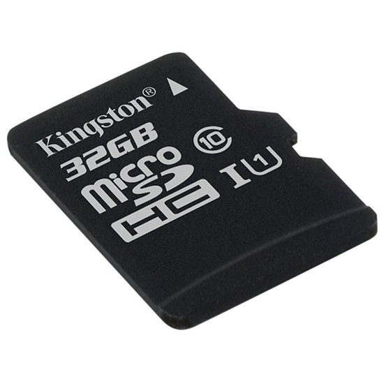 Carte mémoire Kingston microSDHC 32 Go Canvas Select (80Mo/s) - Autre vue