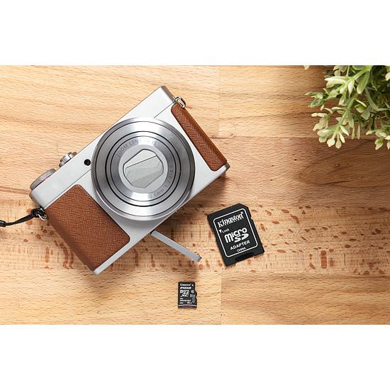 Carte mémoire Kingston microSDXC 64 Go Canvas Select (80Mo/s) + adapt. SD - Autre vue