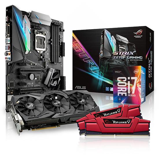 Kit d'évolution PC Materiel.net Gipsy Kit + Asus GTX 1060 STRIX OC