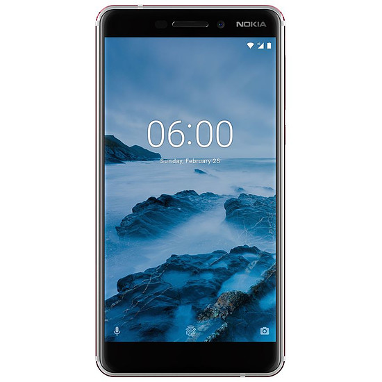 Smartphone et téléphone mobile Nokia 6.1 (blanc)