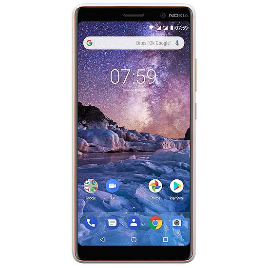 Smartphone et téléphone mobile Nokia 7 Plus (blanc)