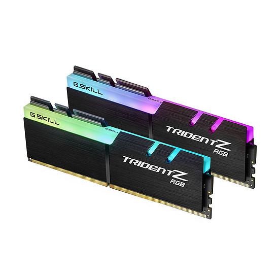 Mémoire G.Skill Trident Z RGB DDR4 2 x 8 Go 4000 MHz CAS 18