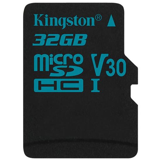 Carte mémoire Kingston microSDHC 32 Go Canvas Go! (90Mo/s)