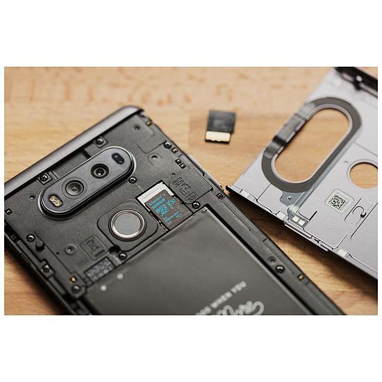 Carte mémoire Kingston microSDHC 32 Go Canvas Go! (90Mo/s) - Autre vue