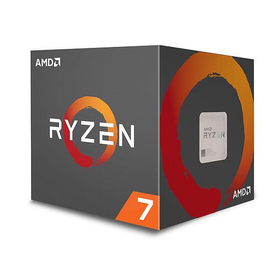 Processeur AMD Ryzen 7 2700 Wraith Spire LED Edition (3,2 GHz)