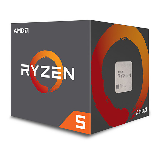 Processeur AMD Ryzen 5 2600 Wraith Stealth Edition (3,4 GHz)