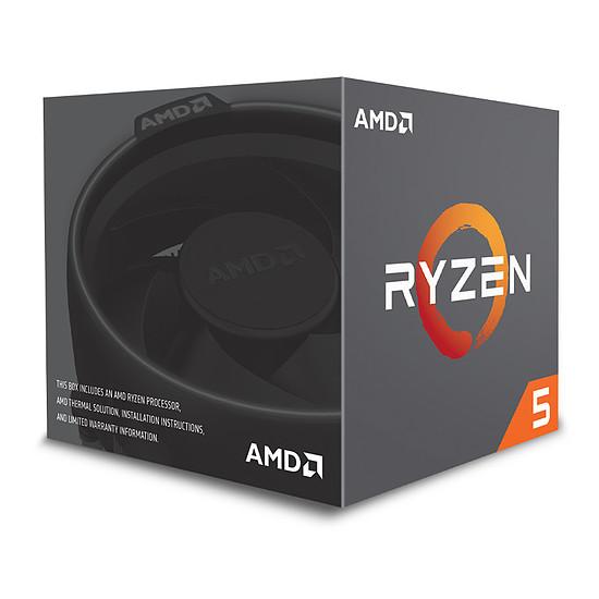 Processeur AMD Ryzen 5 2600 Wraith Stealth Edition (3,4 GHz) - Autre vue