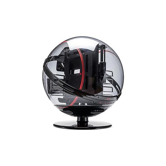 Boîtier PC In Win WinBot - Rouge/Noir
