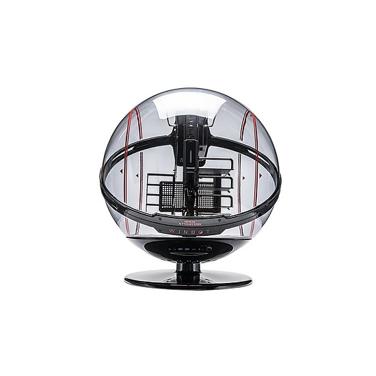 Boîtier PC In Win WinBot - Rouge/Noir - Autre vue