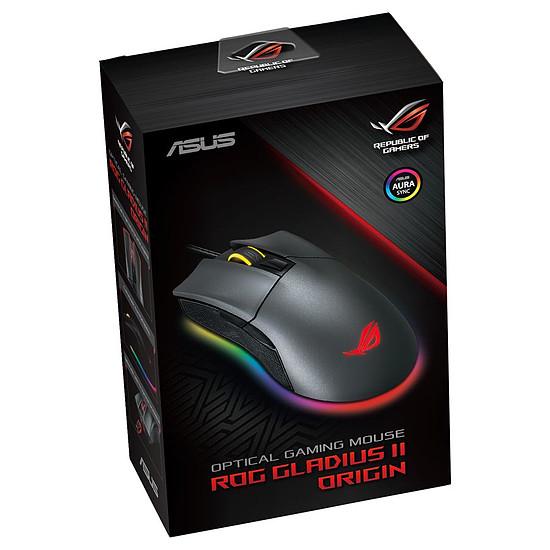 Souris PC Asus ROG Gladius II Origin - Noir - Autre vue