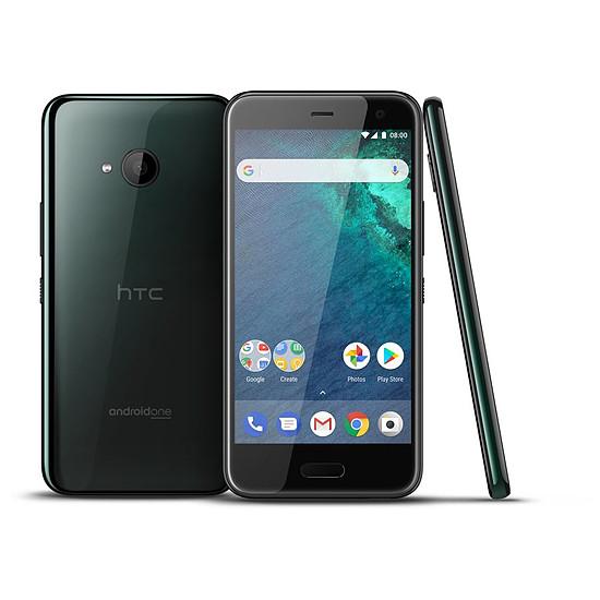 Smartphone et téléphone mobile HTC U11 Life (noir)