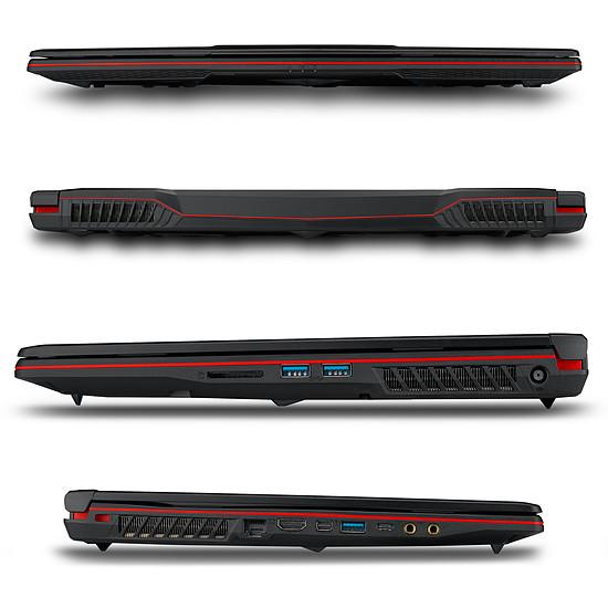PC portable MSI GP63 Leopard 8RE-095FR + Loot Box Accessoires offerte - Autre vue