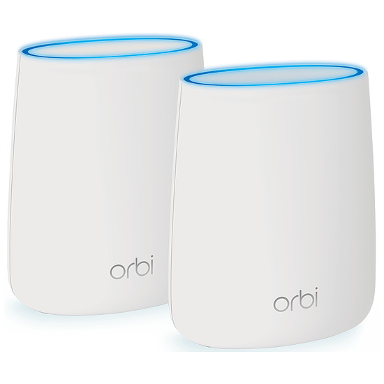 Point d'accès Wi-Fi Netgear ORBI AC2200 (RBK20) - système WiFi tribande