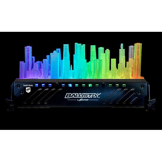Mémoire Ballistix Tactical Tracer RGB 32 Go (2 x 16 Go) DDR4 2666 - Autre vue