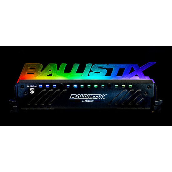 Mémoire Ballistix Tactical Tracer RGB 32 Go (4 x 8 Go) DDR4 2666 MHz - Autre vue