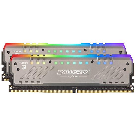 Mémoire Ballistix Tactical Tracer RGB 16 Go (2 x 8 Go) DDR4 3000 MHz