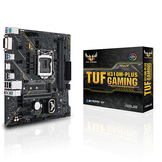 Carte mère Asus TUF H310M-PLUS GAMING