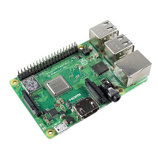 Raspberry Pi Raspberry Pi 3 Model B+ - Autre vue