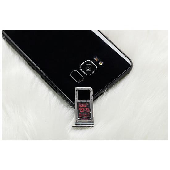 Carte mémoire Kingston microSDXC 64 Go Canvas React (100Mo/s) + adapt. SD - Autre vue