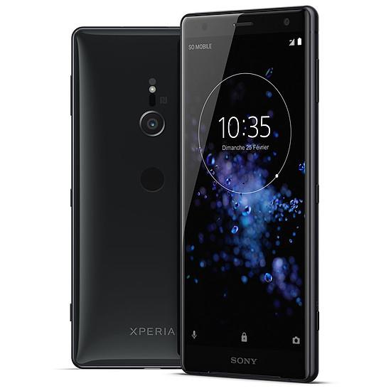 Smartphone et téléphone mobile Sony Xperia XZ2 (noir) - Double SIM