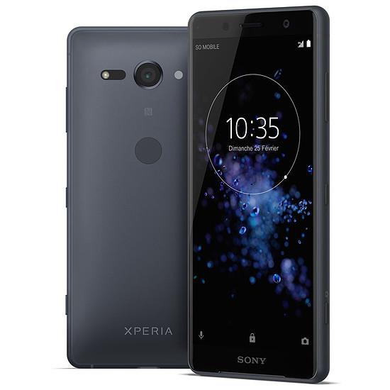 Smartphone et téléphone mobile Sony Xperia XZ2 Compact (noir)