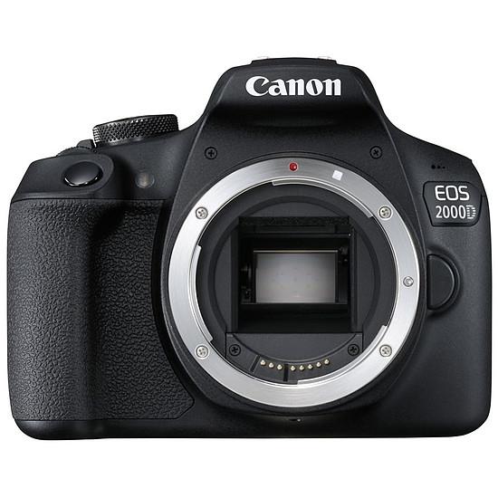 Appareil photo Reflex Canon EOS 2000D Boîtier Nu Noir