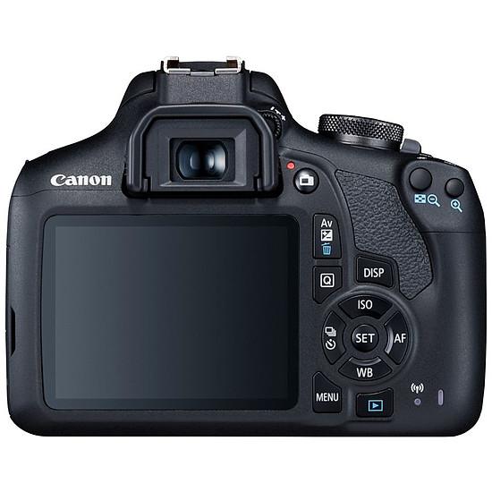 Appareil photo Reflex Canon EOS 2000D Boîtier Nu Noir - Autre vue
