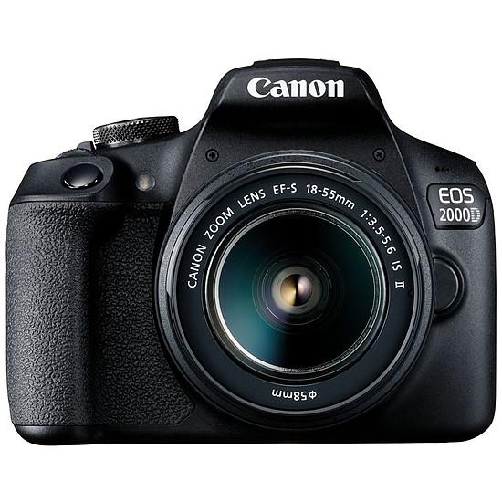 Appareil photo Reflex Canon EOS 2000D + EF-S 18-55 mm
