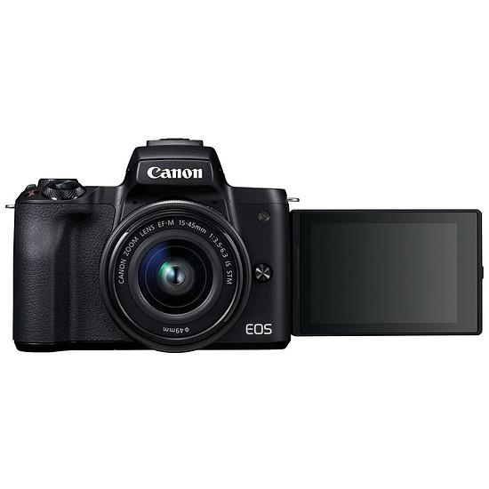Appareil photo hybride Canon EOS M50 Noir (boitier nu) - Autre vue