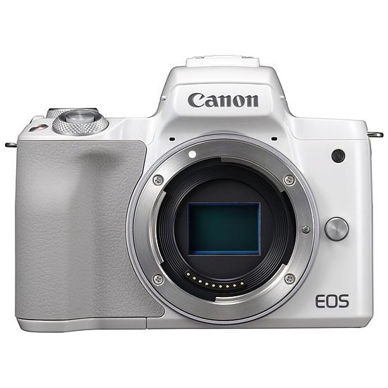 Appareil photo hybride Canon EOS M50 blanc (boitier nu)