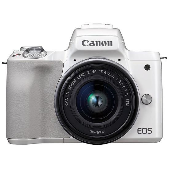 Appareil photo hybride Canon EOS M50 + EF-M 15-45 mm