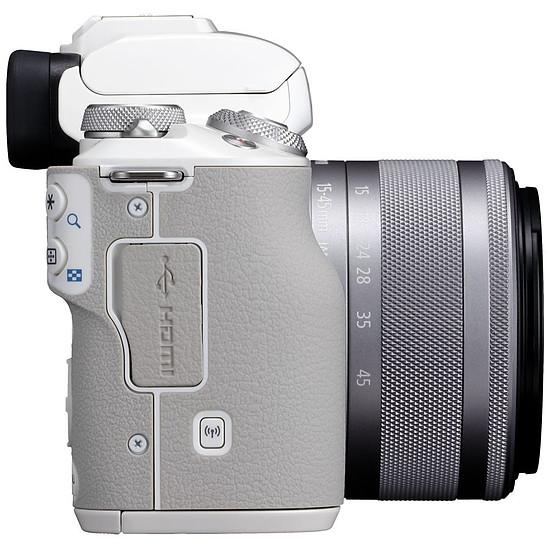 Appareil photo hybride Canon EOS M50 + EF-M 15-45 mm - Autre vue